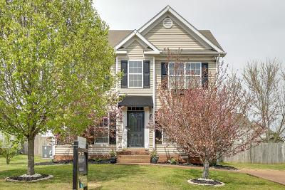 Thompsons Station Single Family Home Active Under Contract: 1104 Summerville Cir