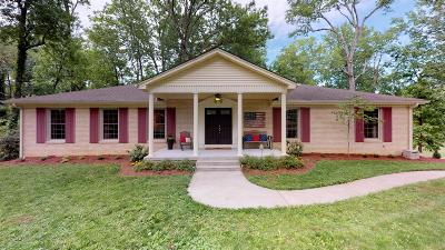 Lebanon Single Family Home Under Contract - Showing: 1613 Shady Crest Dr