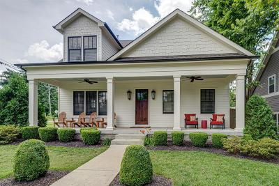 Nashville Single Family Home Active Under Contract: 5101 Nevada Ave