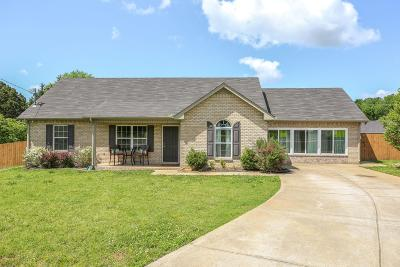 Murfreesboro Single Family Home Under Contract - Not Showing: 3314 Barretts Ridge Dr