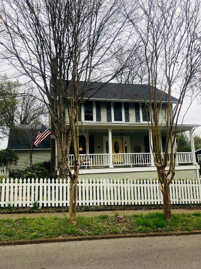 Old Hickory Single Family Home Under Contract - Not Showing: 1401 Overton St