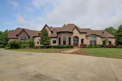 Christian County, Ky, Todd County, Ky, Montgomery County Single Family Home For Sale: 4776 Mickle Ln
