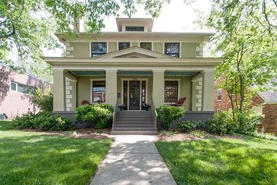 Nashville Single Family Home Under Contract - Showing: 2503 Fairfax Avenue