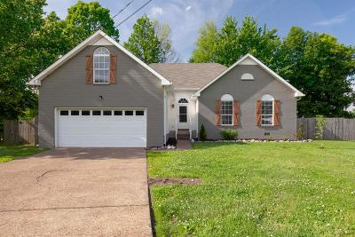 White House Single Family Home Active Under Contract: 106 Timberwood Ct