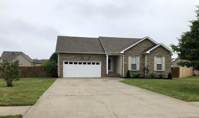 Pleasant View Single Family Home Under Contract - Not Showing: 515 Preakness Ci