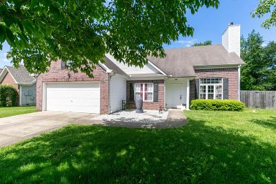 Thompsons Station Single Family Home Under Contract - Showing: 2145 Loudenslager Dr
