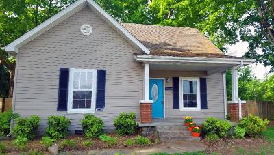 Franklin  Single Family Home Under Contract - Not Showing: 104 Breckenridge Street