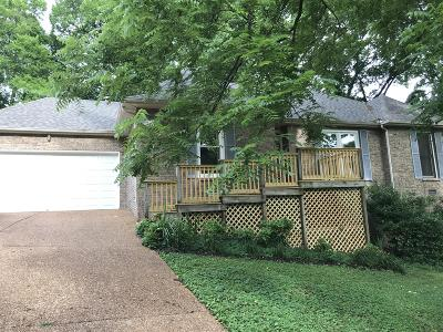 Old Hickory Single Family Home For Sale: 620 Rebel Road
