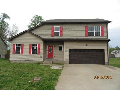 Clarksville TN Single Family Home Under Contract - Showing: $164,500