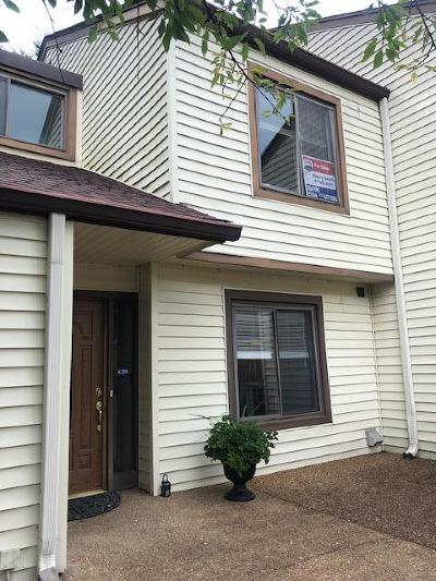 Old Hickory Condo/Townhouse For Sale: 4856 Quail Run