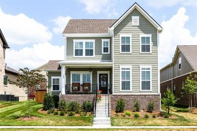 Nolensville Single Family Home Under Contract - Showing: 1808 Grace Point Ln