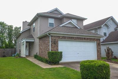 Smyrna Single Family Home Under Contract - Not Showing: 109 Hunterwood Ct