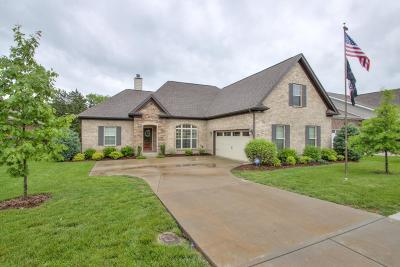 Smyrna Single Family Home Active Under Contract: 115 Saltville Ct