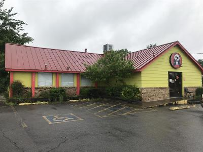 Adams, Clarksville, Springfield, Dover Commercial For Sale: 2018 Fort Campbell Blvd