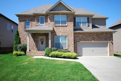 Clarksville Single Family Home For Sale: 3372 Wiser Drive