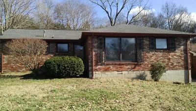 Davidson County Single Family Home Under Contract - Not Showing: 336 Ladybird Dr