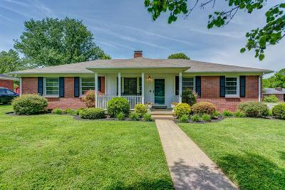 Gallatin Single Family Home Under Contract - Showing: 336 Allen Dr