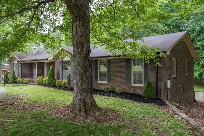 Cross Plains Single Family Home Active Under Contract: 4428 Calista Rd