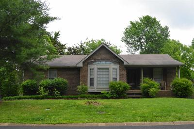 Nashville Single Family Home For Sale: 620 Bluewater Dr