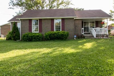 Christian County, Ky, Todd County, Ky, Montgomery County Single Family Home Under Contract - Showing: 620 Cayce Dr