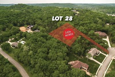 Sumner County Residential Lots & Land Under Contract - Showing: Morchella Pvt Way Lot 28