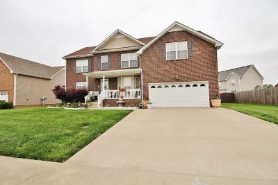 Clarksville Single Family Home For Sale: 1036 Chardea Dr