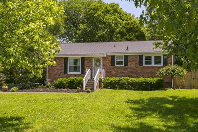 Nashville Single Family Home For Sale: 5104 Trousdale Dr