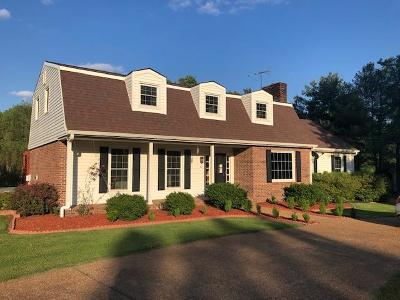 Hendersonville Single Family Home Under Contract - Showing: 365 Indian Lake Rd