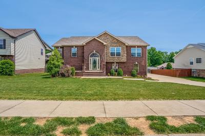 Clarksville Single Family Home Under Contract - Not Showing: 1495 Raven Rd