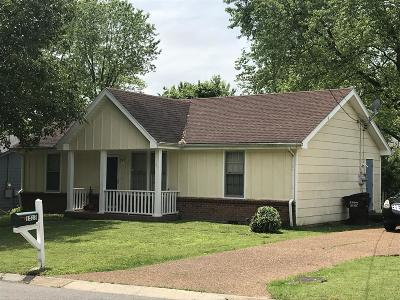 Davidson County Single Family Home Under Contract - Not Showing: 1513 Fall Dr