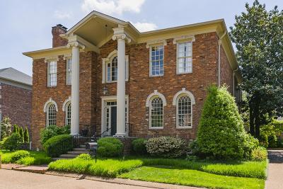 Nashville Single Family Home For Sale: 7 Wyndham Pl