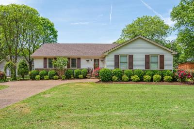 Nolensville Single Family Home Under Contract - Showing: 405 Ramblewood Ln