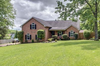Mount Juliet Single Family Home Under Contract - Showing: 803 Gina Ct