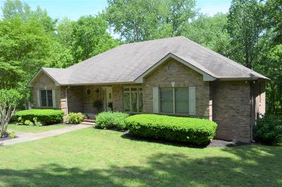 Clarksville Single Family Home Under Contract - Not Showing: 612 Idlewood Dr