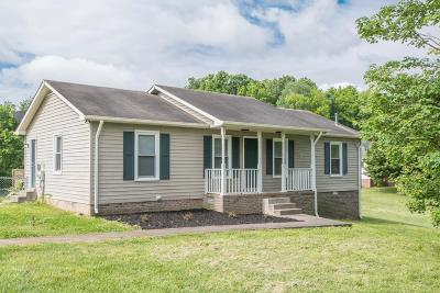 Robertson County Single Family Home Under Contract - Showing: 6473 Gum Station Rd
