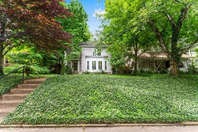 Nashville Single Family Home For Sale: 3715 Central