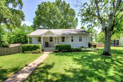 Old Hickory Single Family Home For Sale: 1609 Bondurant St