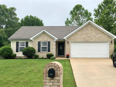 Williamson County Single Family Home Under Contract - Showing: 2124 Long Meadow Dr