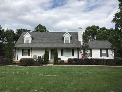 Smyrna Single Family Home Active Under Contract: 500 Summerfield Dr