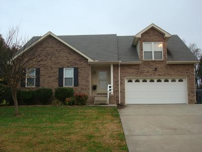 Clarksville Single Family Home Under Contract - Showing: 685 Renee Ct