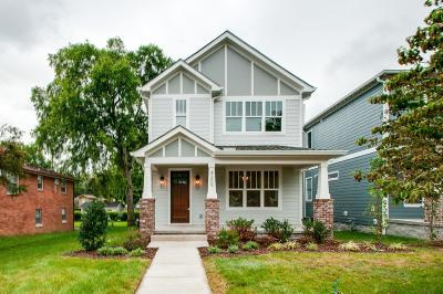 Nashville Single Family Home Under Contract - Showing: 4209 Utah Ave