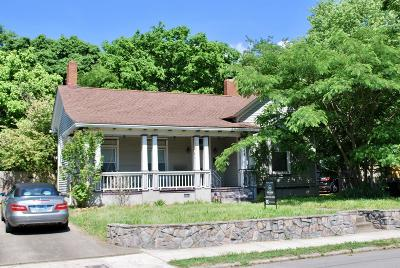 East Nashville Single Family Home Under Contract - Not Showing: 124 S 17th St