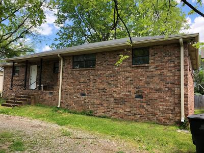 Nashville Multi Family Home Under Contract - Showing: 1304 55th Ave N