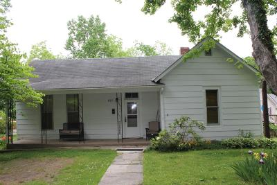 Dickson Single Family Home For Sale: 414 W Railroad St