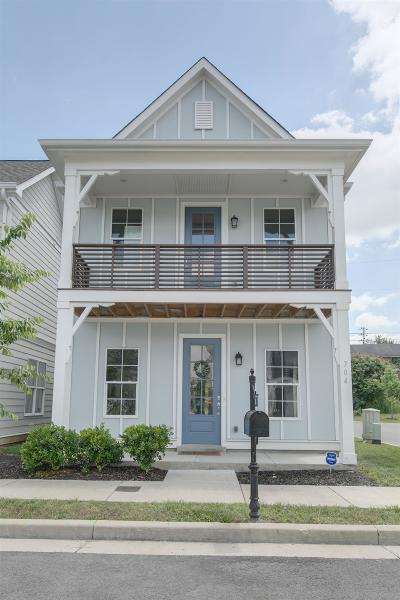 East Nashville Single Family Home Under Contract - Not Showing: 704 Cottage Park Drive