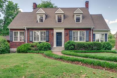 Nashville Single Family Home For Sale: 224 Harding Place