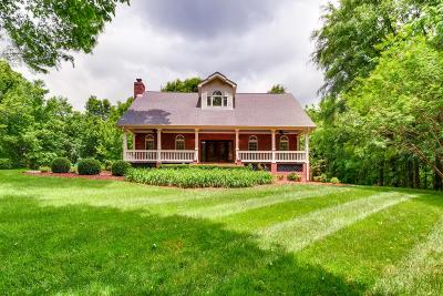 Franklin Single Family Home Under Contract - Not Showing: 4218 B Crowder Rd