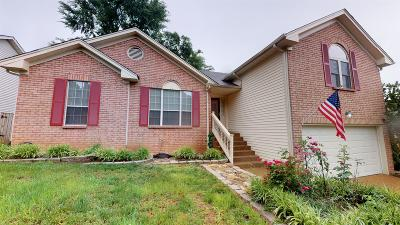 Mount Juliet Single Family Home Under Contract - Showing: 2008 Alice Springs Ct