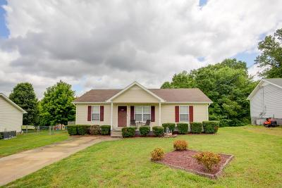 Clarksville Single Family Home Under Contract - Not Showing: 2746 Cider Dr