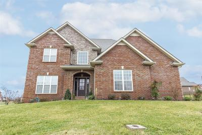 Clarksville Single Family Home For Sale: 3148 Carrie Taylor Cir